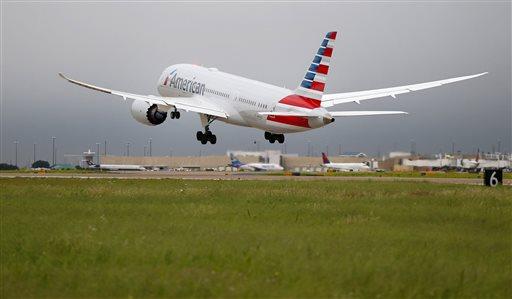 American Airlines Dreamliner