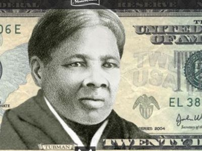More than a million people voted to put a woman on the $20 bill. The winner was Harriet Tubman. (Courtesy of womenon20s.org)