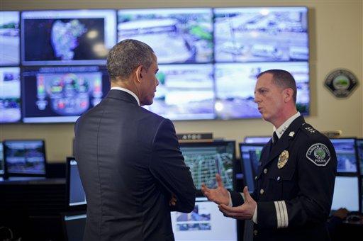 Barack Obama, J. Scott Thomson
