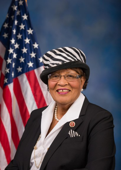 Representative Alma Adams (D-N.C.), shown here, partnered with Bradley Byrne (R-Ala.) to launch the Bipartisan Congressional HBCU Caucus. (Courtesy Photo)