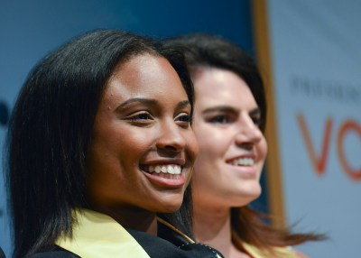 Morgan Grayned, a recipient of the Buick Achievers scholarship from Hampton University (Freddie Allen/NNPA Photo)