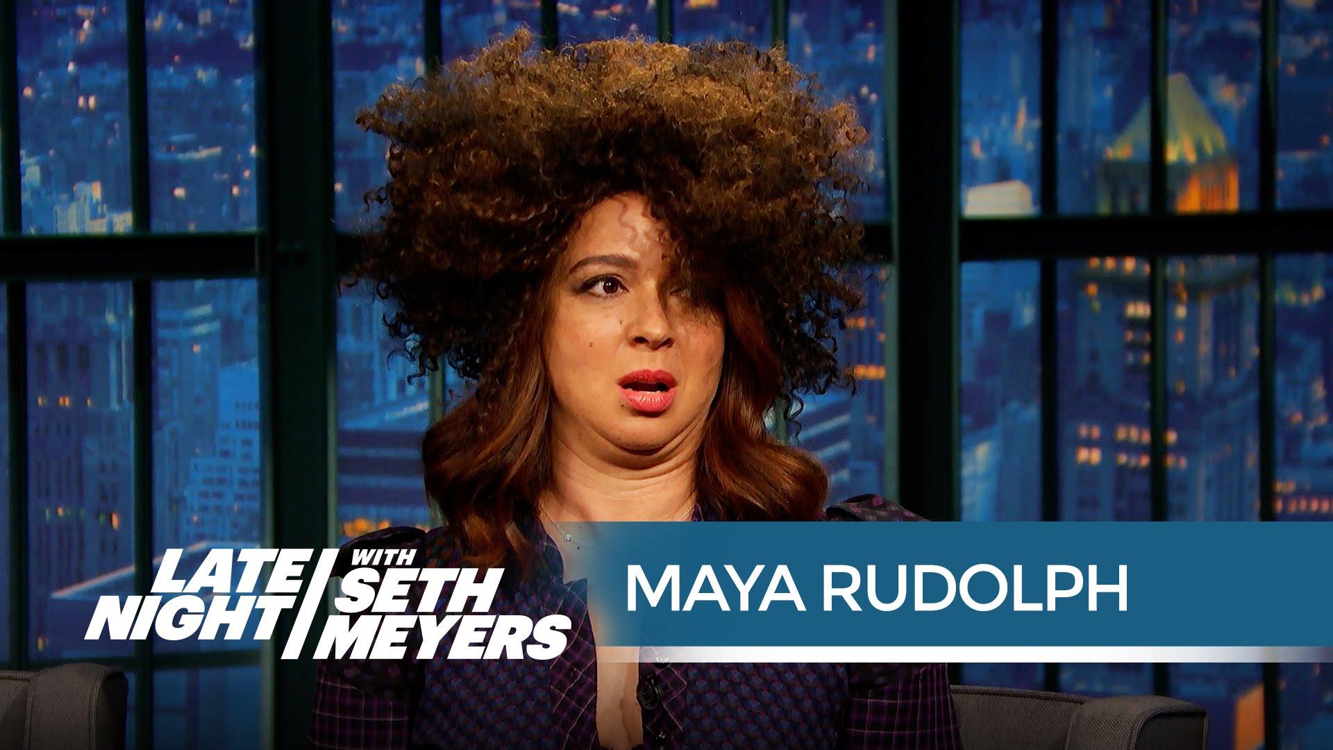 Maya Rudolph's Rachel Dolezal Impression – Late Night with Seth Meyers