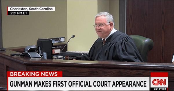 South Carolina Magistrate James Gosnell Jr. (CNN screencapture)