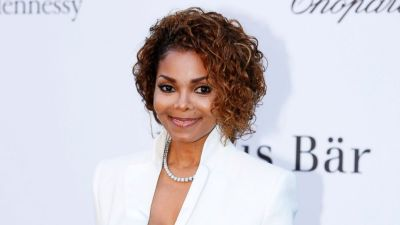 In this May 23, 2013 file photo, singer Janet Jackson arrives at amfAR Cinema Against AIDS benefit at the Hotel du Cap-Eden-Roc, during the 66th international film festival, in Cap d'Antibes, southern France. Janet Jackson is releasing her first album in seven years this fall. The pop icon said on her website Wednesday, June 3, 2015, that the album, not yet titled, will be released on her own label, Rhythm Nation Records, via Bertelsmann Music Group. (Photo by Joel Ryan/Invision/AP, File)