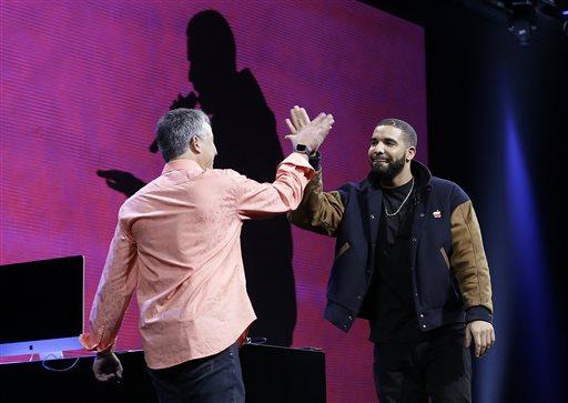Drake, Eddy Cue