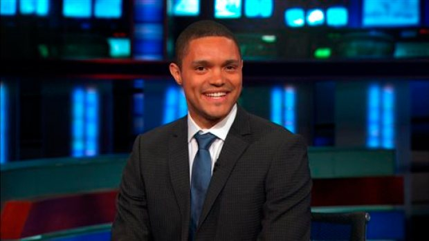 """This image provided by Comedy Central shows Trevor Noah, the new host of Comedy Central's """"The Daily Show,"""" who starts Sept. 28, 2015. (Comedy Central via AP)"""