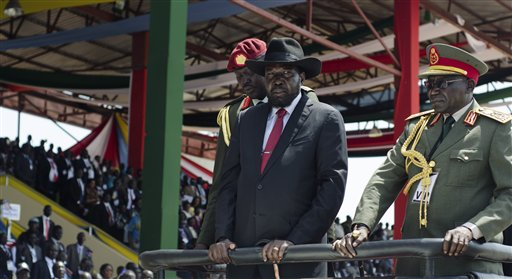 Salva Kiir, Paul Malong Awan
