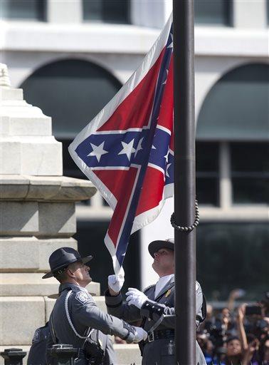 APTOPIX Confederate Flag