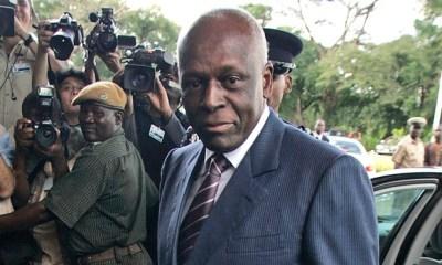 Angola's president Jose Eduardo dos Santos. (Themba Hadebe/AP Photo)