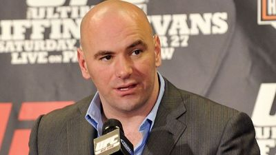 UFC President Dana White (AP Photo)