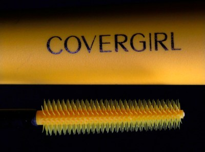 This Jan. 23, 2012 file photo shows CoverGirl Lash Blast mascara and applicator in Moreland Hills, Ohio. Beauty products maker Coty is buying 43 beauty brands from Procter & Gamble Co., including Miss Clairol, Covergirl and Max Factor. P&G said Thursday, July 9, 2015 that it puts the dealís value at about $15 billion. (AP Photo/Amy Sancetta, File)