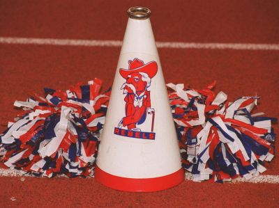 "Vestavia Hills High School mascot ""The Rebel Man"""