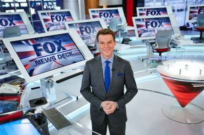 """In this image released by Fox News Channel, chief news anchor and managing editor of the news division Shepard Smith on the FOX News deck in New York. Smith will anchor a special this weekend about the 10th anniversary of Hurricane Katrina. Fox News begins the television remembrances Friday at 10 p.m. EDT with """"Hurricane Katrina, Storm of a Lifetime."""" (Fox News Channel via AP)"""