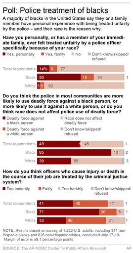 BLACKS POLICE