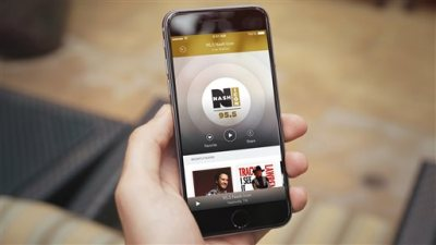 This product image provided by Rdio shows the company's Live Radio feature within the Rdio app. Rdio, the music subscription service backed by Skype co-founder Janus Friis, is partnering to bring simulcasts of 500 traditional radio stations to its app in the U.S. (Rdio via AP)