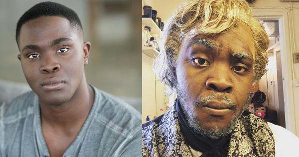 Kyle Jean-Baptiste as Jean Vlajean in Les Miserables. (via Jean-Baptiste's Twitter)
