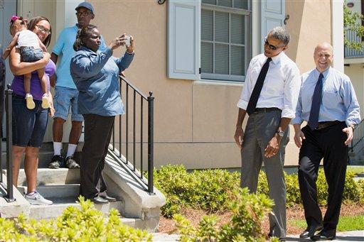 Barack Obama, Mitch Landrieu