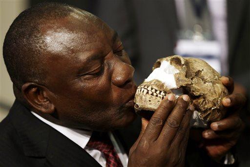 APTOPIX South Africa Human Ancestor