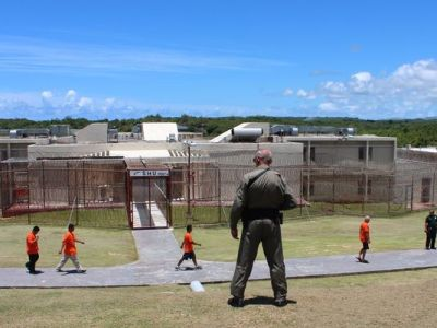The Department of Corrections' prison in Mangilao as photographed in July 2013. (PDN)