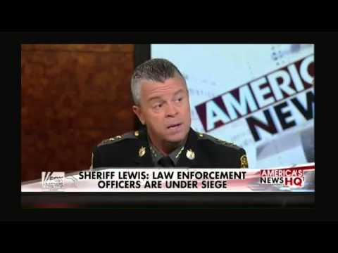 Why the rise in police shootings?   Sheriff Mike Lewis provides insight into recent attacks on law e