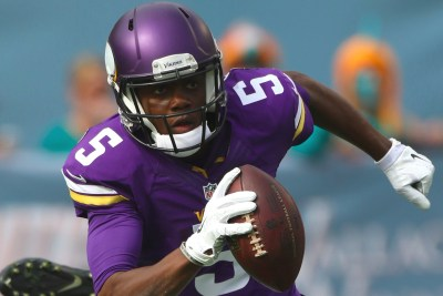 Minnesota Vikings quarterback Teddy Bridgewater (AP Photo)