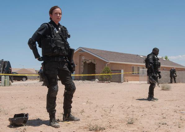 """Emily Blunt (left) stars in """"Sicario."""" (Lionsgate)"""