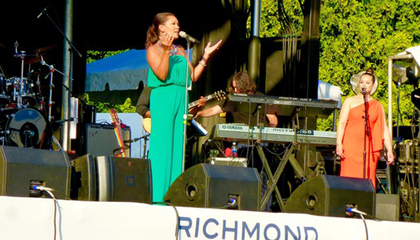 Vanessa Williams performs at the 2016 Richmond Jazz Festival. (Dwight Brown)