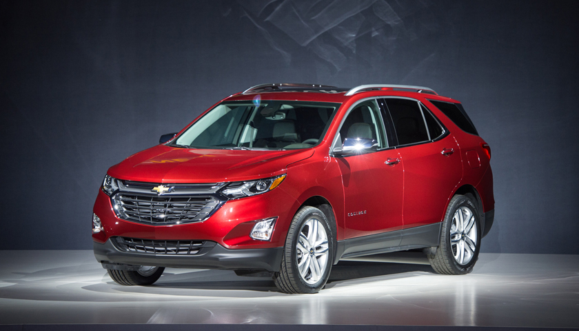Chevrolet Introduces 2018 Equinox Compact SUV