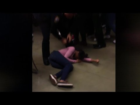 WATCH: Outrage over Video Showing Cop Body-slamming Teen Girl