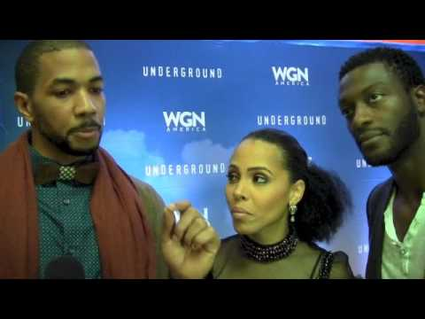"""WATCH — Cast of """"Underground"""" comes to Memphis for TSDtv"""