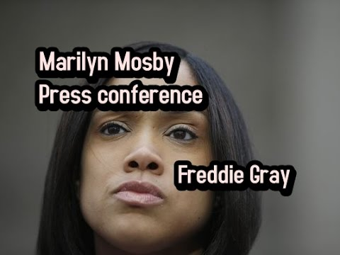 WATCH: Press Conference with Baltimore State's Attorney Mosby after All Charges Dropped in Freddie Gray Case