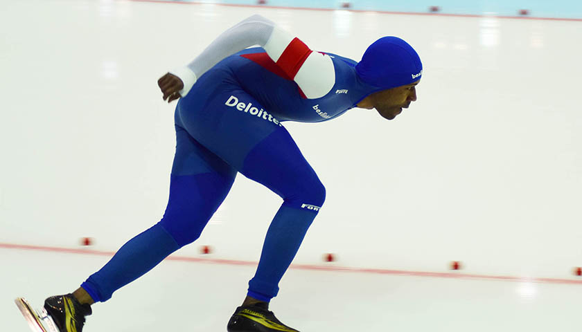 Black Speed Skating Champion Shani Davis Snubbed During Winter Olympics Opening