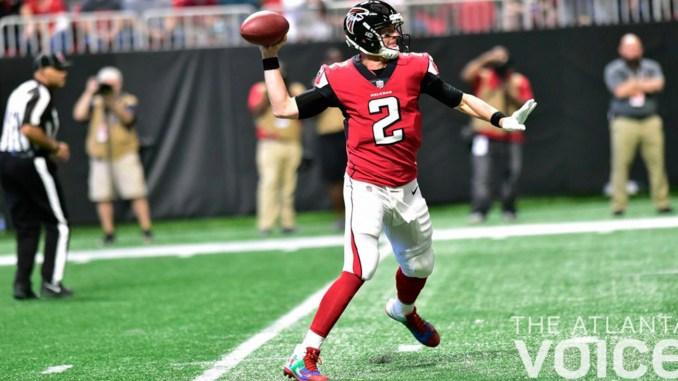 Falcons' quarterback Matt Ryan