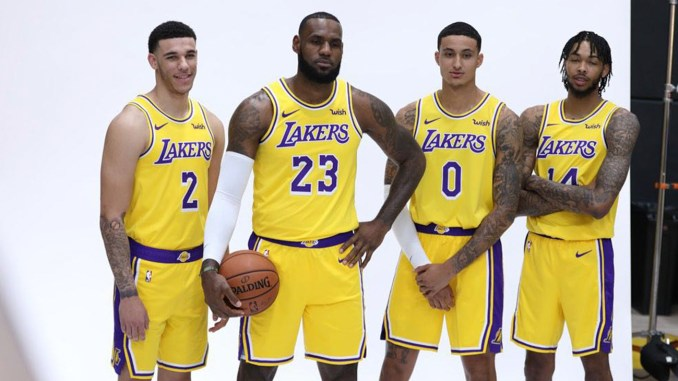 257c6ea24cb LeBron James Tempers Expectations in Lakers  Return to Competitiveness