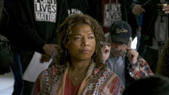 Queen Latifah stars in and serves as executive producer of Flint.