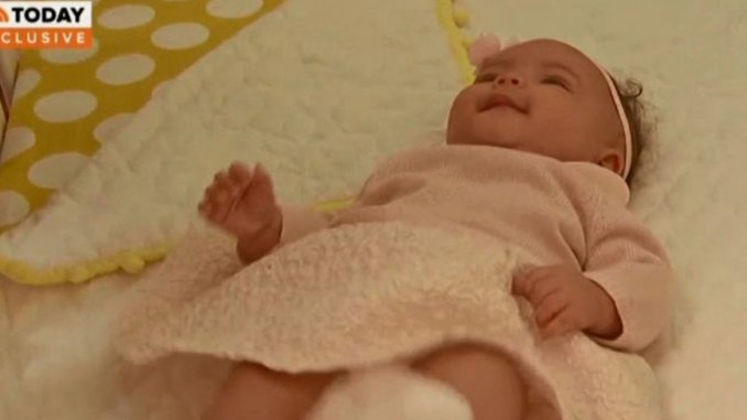 DC Mayor Muriel Bowser shows off her new baby Miranda Elizabeth Bowser