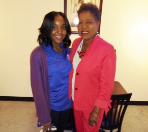 Brenda Gilmore and Granddaughter Anayah Gilmore. (photo by D. Culp)