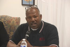 Patrick Green is President of ATU Local 1235, city bus drivers