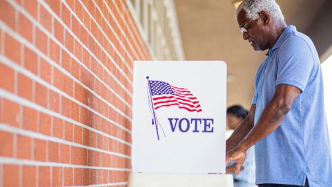 """Launched in May, the """"Be the Difference. Vote,"""" campaign relies on studies that show voters 50 and older are the most reliable. (Photo: AARP)"""
