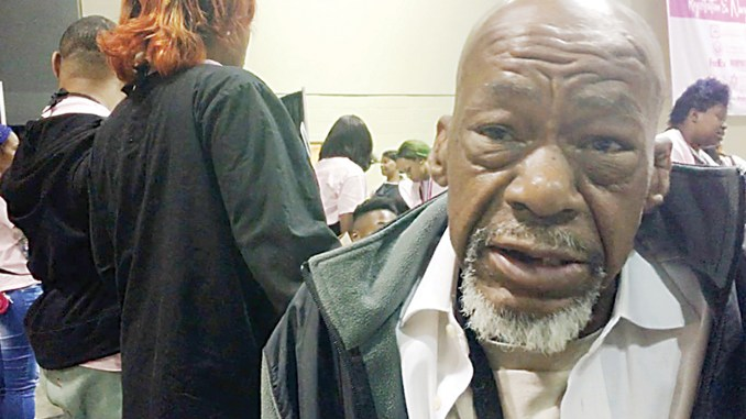 """Darrell Thomas Screencap: """"Most people that got a home don't want to be bothered with the people without a home,"""" said 54-year-old Darrell Thomas."""