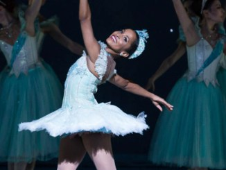 Kayla Rowser as the Snow Queen. (photo by Karyn Photography)