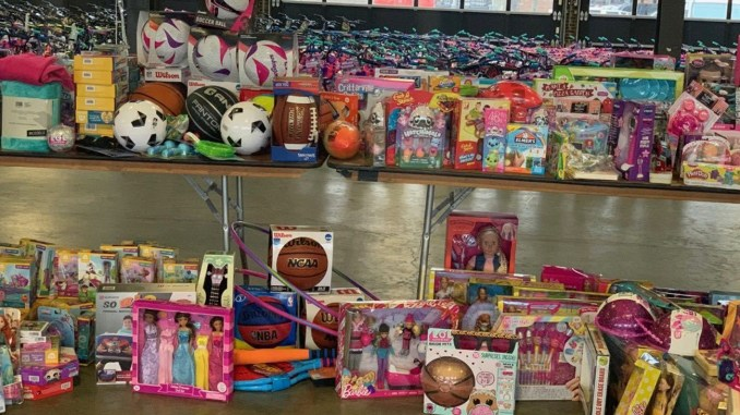Approximately 10,000 toys, bicycles, and helmets were distributed to families in Detroit, Flint, Saginaw, Bay City, and surrounding neighborhoods.