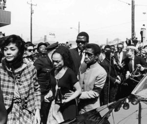 STAR POWER. Celebrities like Nancy Wilson, Eartha Kitt, Sammy Davis Jr., Sidney Poitier, Marlon Brando and Berry Gordy Jr. risked careers for principles during the sixties Civil Rights Movement.