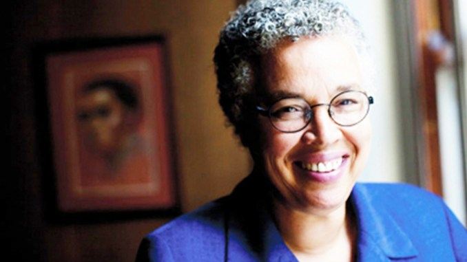 Toni Preckwinkle (Photo by: Chicago Crusader)