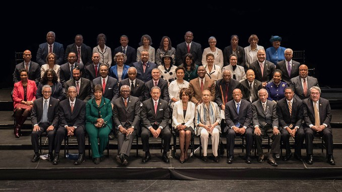 The new CBC features nine new members of the U.S. House bringing the group to a total of 55. The 116th Congress will be the first time that the Congressional Black Caucus will ever have over fifty members.
