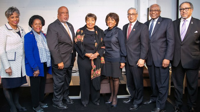 In moderating the panel of awardees, Dr. Benjamin F. Chavis Jr. began with the ultra-popular Congresswoman Maxine Waters, the first black woman to chair the House Committee on Financial Services. He asked Waters what could be expected from her committee in terms of improving the quality of life in black communities.