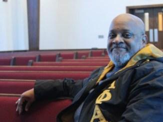 The Rev. Christopher Hamlin, pastor, Tabernacle Baptist Church in West Birmingham. (Ariel Worthy/FILE)