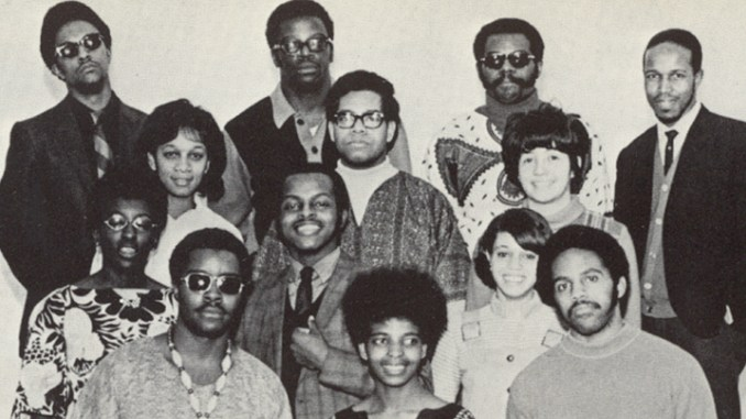 Founding PRIDE members, circa 1969 (Photo Courtesy of Hamline)