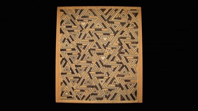 Unidentified Kuba Artist. Prestige Cloth 1959‑1960. Kasai Province, Democratic Republic of the Congo. Private Collection, R.18060.6 (Courtesy Photo BMA)