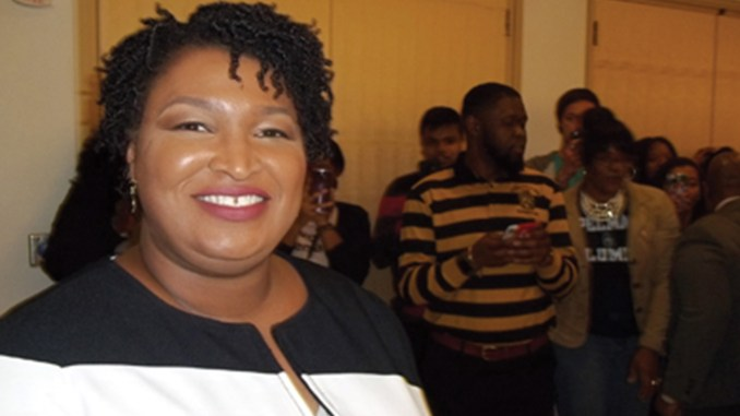 Stacey Abrams (Photo by: Cass Teague)